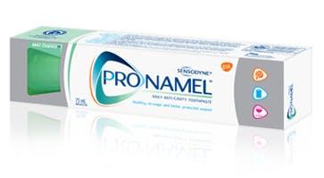 A box of Pronamel® Mint Essence Toothpaste