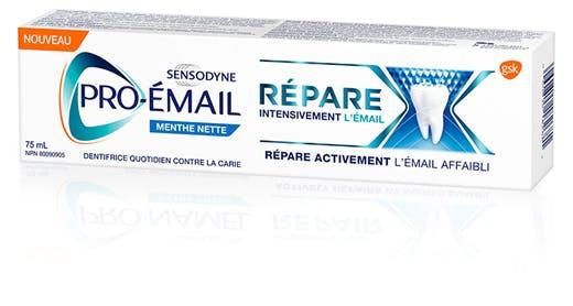 Emballage Pro-Émail Répare intensivement l'émail Menthe nette
