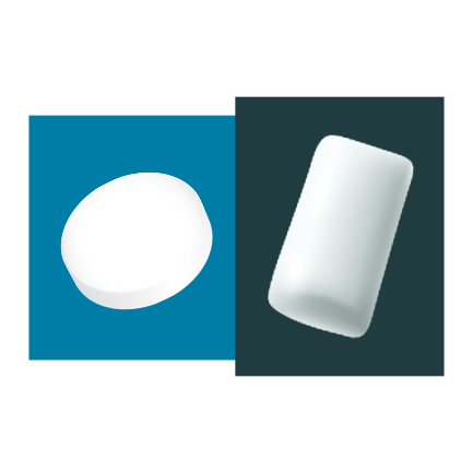 Lozenge and gum icons