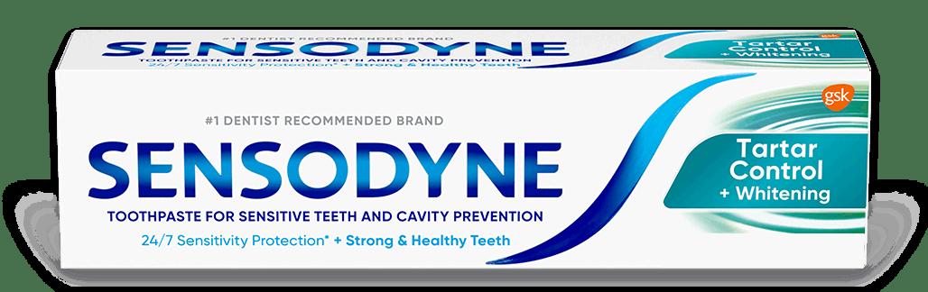 Sensodyne Tartar Control with Whitening toothpaste