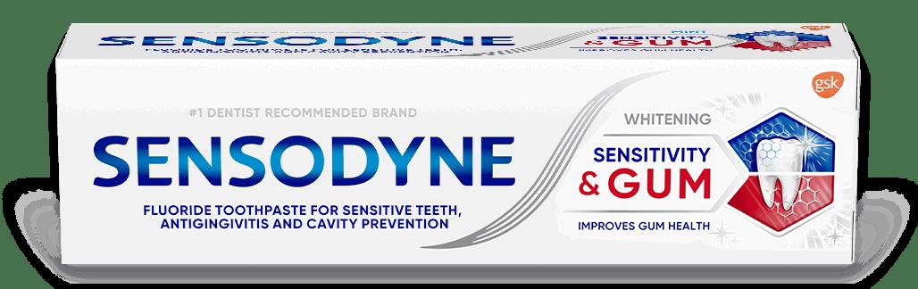 Sensodyne Sensitivity & Gum Whitening Toothpaste