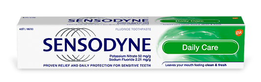 Sensodyne Repair and Protect toothpaste in Whitening