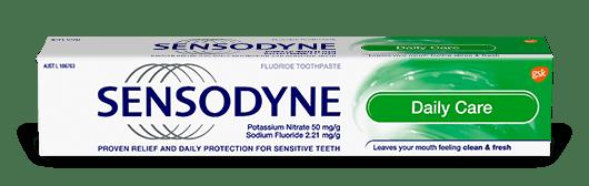Sensodyne Daily Care toothpaste