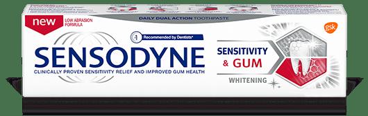 Sensodyne Sensitivity and Gum Whitening Toothpaste Pack