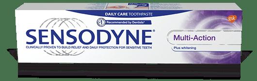 Sensodyne Multi-Action Whitening toothpaste