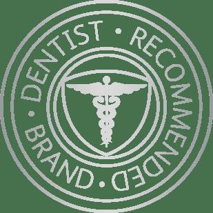 Seal establishing Sensodyne as the #1 dentist recommended brand for sensitive teeth