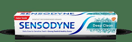 Sensdoyne Toothpaste in Deep Clean