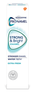 Sensodyne Pronamel Strong and Bright toothpaste in Extra Fresh