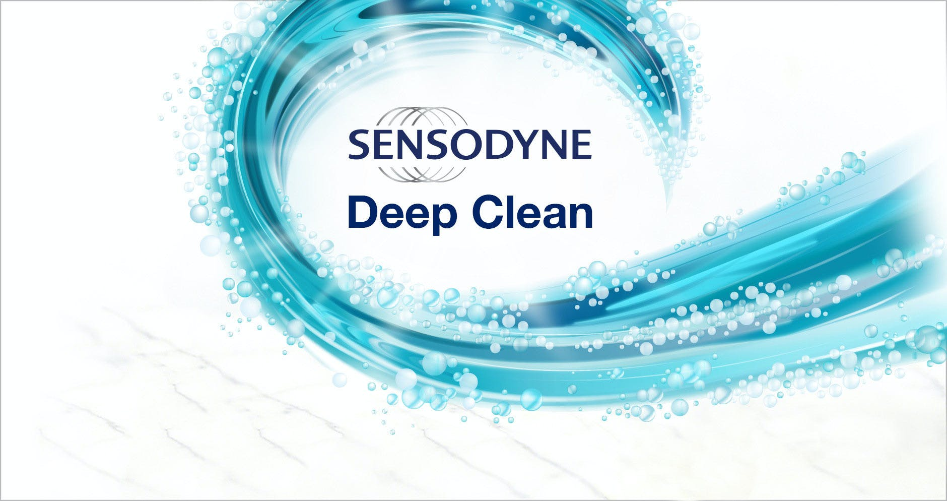 Deep clean sensitive teeth with Sensodyne