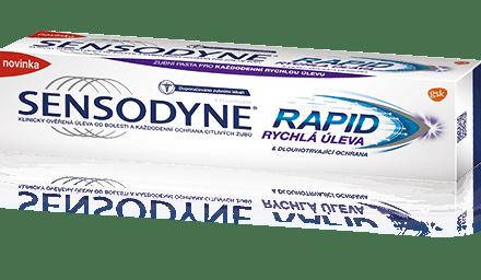Sensodyne® |Zubní pasta Rapide
