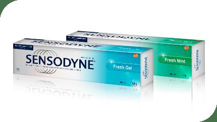 Sensodyne Fresh Mint & Sensodyne Fresh Gel