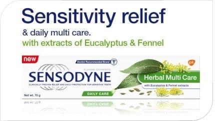 Sensodyne Herbal Multi Care