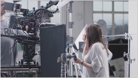Screenshot of behind-the-scenes video
