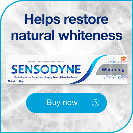 Helps restore natural whitness