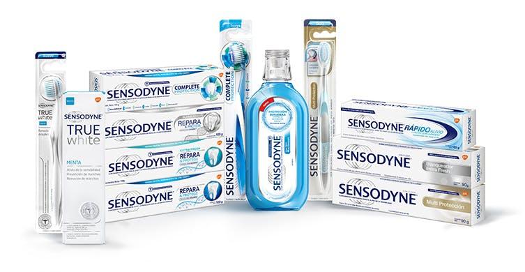 Productos para el tratamiento de la sensibilidad dental -sensodyne argentina -gsk