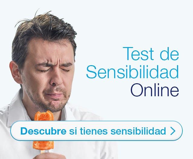 Test de la sensibilidad dental online Sensodyne -Descubrí si tenés sensibilidad