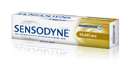 Sensodyne® MultiCare dentifrice