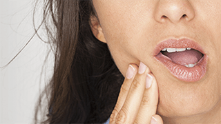 Symptomer på Ising i tennene