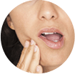 Symptomer på ising