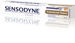 Зубная паста Sensodyne®| Комплексная Защита