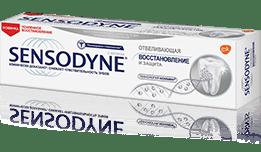 Зубная паста Sensodyne | Восстановление и Защита Отбеливающая