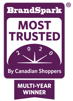 BrandSpark Icon   Most Trusted by Canadian Shoppers