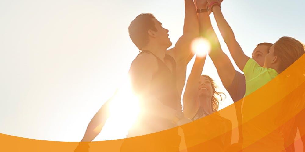 Start VoltActive Kniebandage aktiver Lebensstil