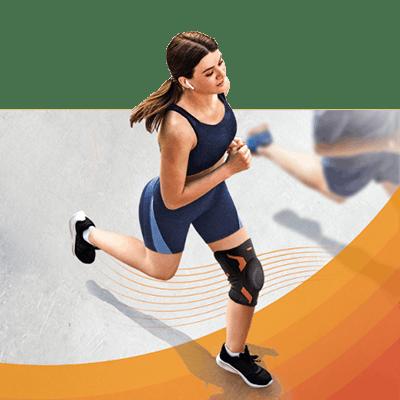 Mission VoltActive Kniebandage Sport Laufen