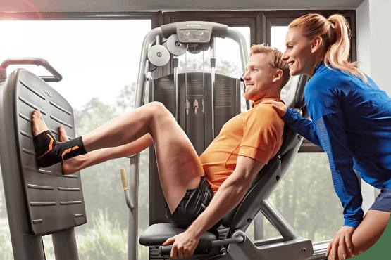 Mission VoltActive Kniebandage Sport Fitnessstudio