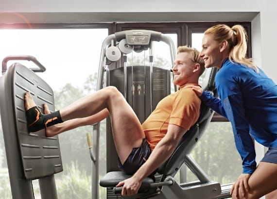 VoltActive Sprunggelenkbandage Sport Fitnessstudio