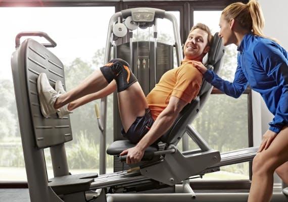 VoltActive Kniebandage Sport Fitnessstudio