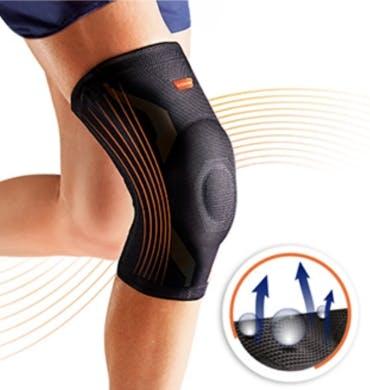 Detail VoltActive Kniebandage elastisch atmungsaktiv