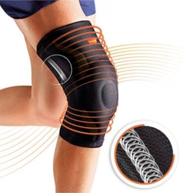 Detail VoltActive Kniebandage sport sicherer Halt
