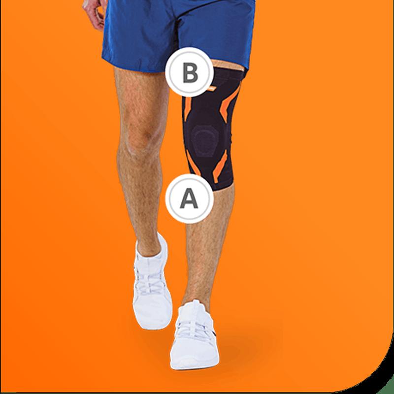 Bewertungen VoltActive Bandage Knie Passform