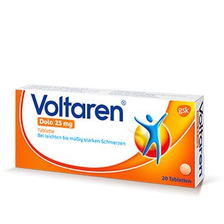Die kleinen Voltaren-Tabletten