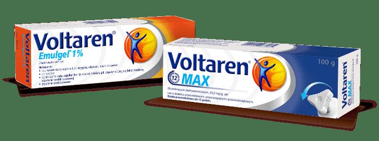 Voltaren Emulgel i Voltaren Max - żele przeciwbólowe i przeciwzapalne bez recepty