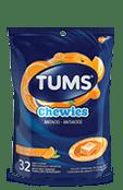 TUMS Chewies, orange intense, sac de 32 bouchées tendres