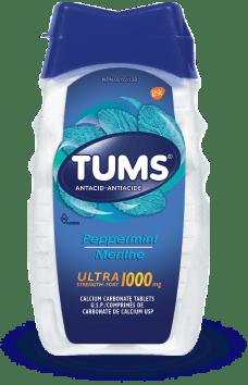 Flacon de Tums® Ultra-fort Menthe - 72