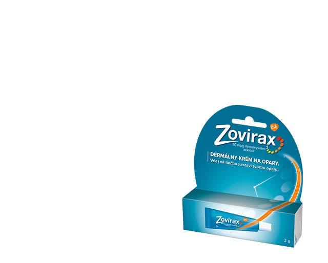 Krabička Zovirax Krém