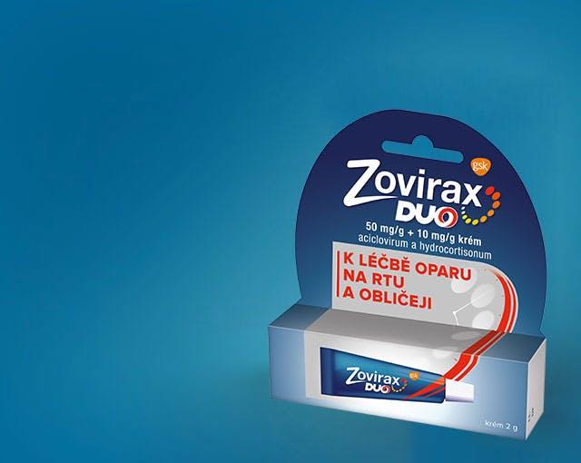 Krabička Zovirax Duo