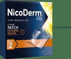 NicoDerm CQ Clear Patch Step 2