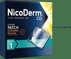 NicoDerm CQ Clear Patch Step 1
