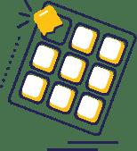 Nicorette gum icon