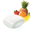 Fruit Chill flavored Nicorette gum