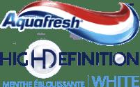 Aquafresh® High Definition™ White menthe éblouissante