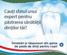 Cauţi sfatul unui expert pentru sănătatea dinţilor tăi?