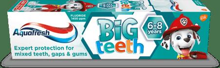 Kids big adult teeth toothpaste