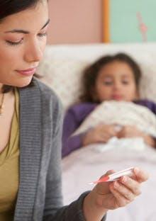 Болка и температура при деца