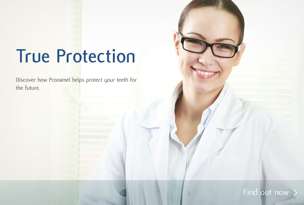 Dentists recommend Pronamel to help protect against the effects of Acid Wear