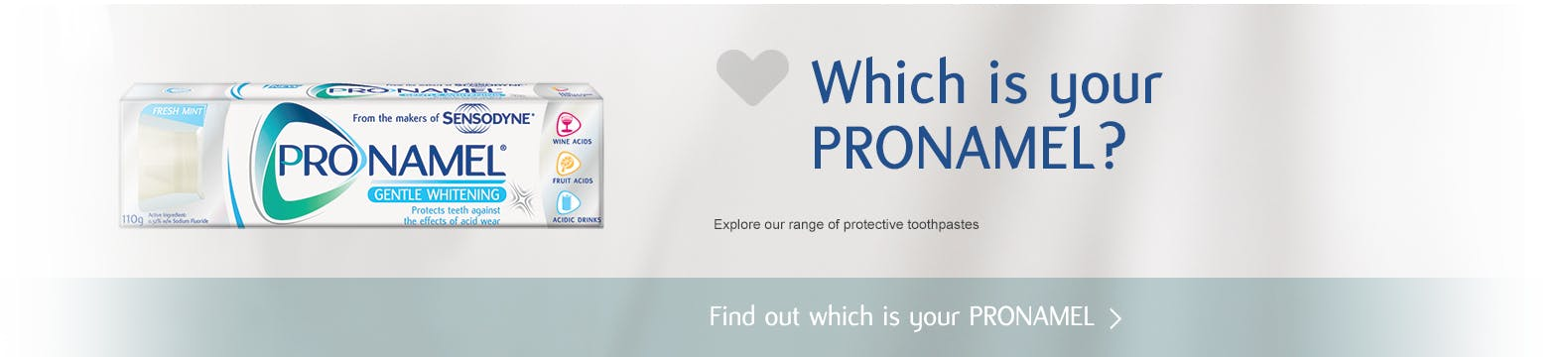 Find out which is your Pronamel